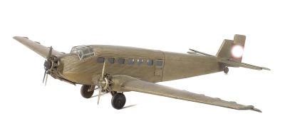 Airplane model Junkers 52/3 m, Junkers Flugzeugwerk AG, Dessau, around 1935, Toys
