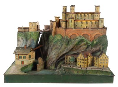 Castle complex Heidelberger Schloss, Rock & Graner, Biberach, around 1875, Toys
