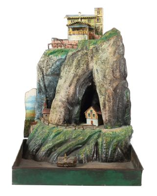 Mountain section, Rock & Graner, Biberach, around 1875, Toys